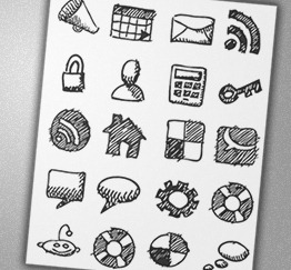 19-free-hand-drawn-sketech-icons