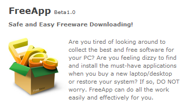 FreeApp, Safe and Easy Freeware Downloading!