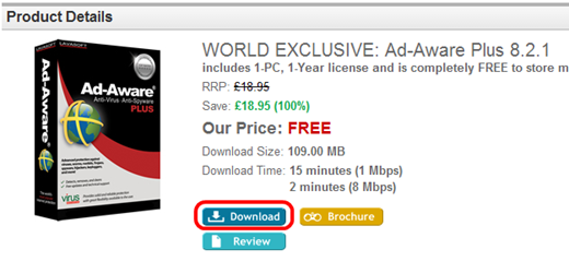 World Exclusive: Ad-Aware Plus 8.2.1