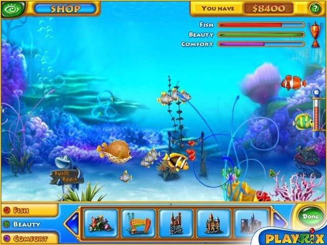 Fishdom 遊戲截圖
