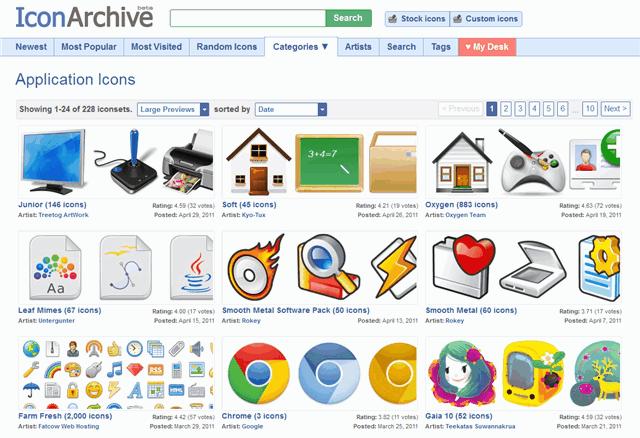 IconArchive - 專業圖示搜尋引擎,超過二十萬個免費圖示下載