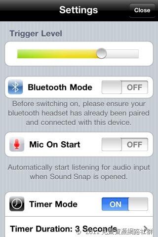 [iOS] SoundSnap - 聲控拍攝!iPhone 拍照好方式(限時免費)