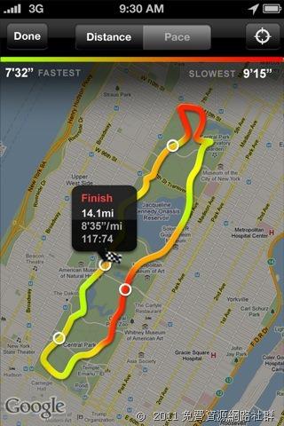 [iOS] Nike+ GPS - 跑步的朋友必備!