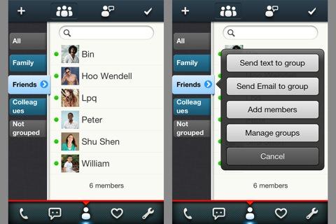 [iOS] Youlu Addressbook - 放棄內建的電話簿吧!這才是 iPhone 使用者需要的電話簿!