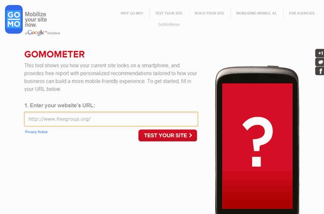 GoMo 網站對行動裝置用戶夠友善嗎?讓 Google 告訴你