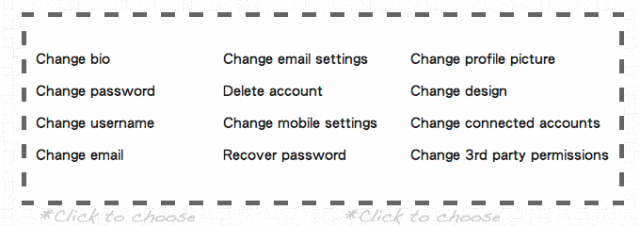 BlissControl 在一個網站內管理所有社群網路設定