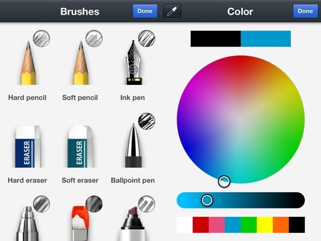 LINE Brush 讓你在 LINE 裡隨心所欲的「畫」,將相片加上特殊效果!