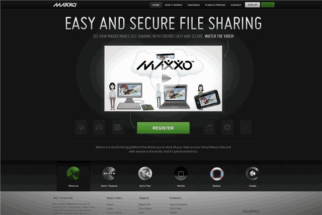 Maxxo:又一個免費網路硬碟,注重個人隱私與安全性