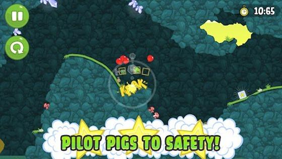 [Android] Bad Piggies -憤怒鳥團隊又一力作,這次要換壞壞豬來當主角了!