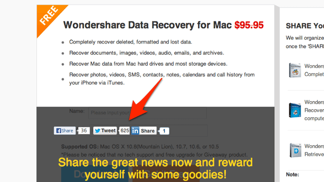 Wondershare Data Recovery for Mac:安全、快速回復刪除的 Mac 資料(限時免費)
