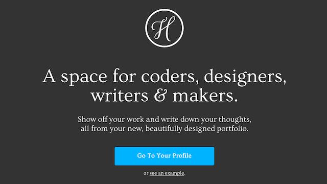 Hoverboard 五分鐘打造線上個人頁面,展示你的專業領域