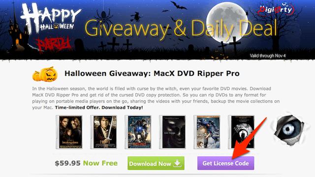 DVD 影音轉檔工具 MacX DVD Ripper Pro 限時免費下載(Mac 版)