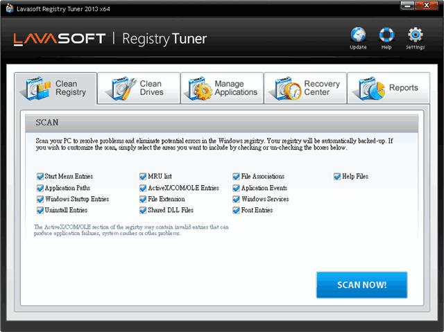 Lavasoft Registry Tuner 系統清理、最佳化工具,限時免費(含序號)