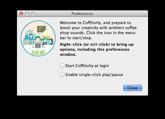 Coffitivity 咖啡店音效產生器,Mac、iOS 版限時免費下載(原價 $1.99)