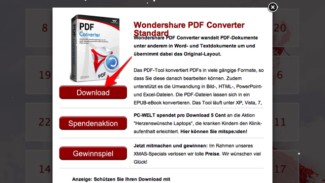 Wondershare PDF Converter Standard:中文 PDF 轉檔工具(24 小時限時免費)