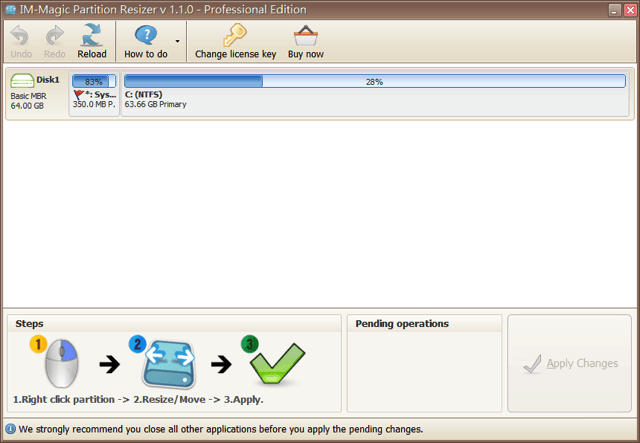 IM-Magic Partition Resizer Pro 硬碟磁區調整、重設工具,限時免費下載