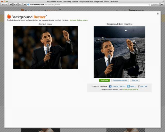 Background Burner 線上去背服務,從圖片或相片中「全自動」去除背景