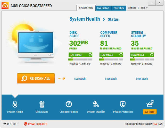 BoostSpeed 6.5.6 強大的多功能系統最佳化軟體,限時免費下載(原價 $49.95 美元)