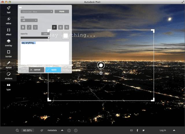 Pixlr 推出桌面版相片修圖軟體,支援 Windows、Mac 平台