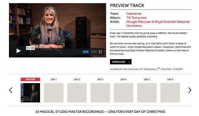 Linn 推出 24-bits of Christmas 2014,免費下載高音質 FLAC 音樂