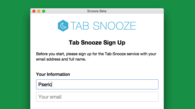 Tab Snooze