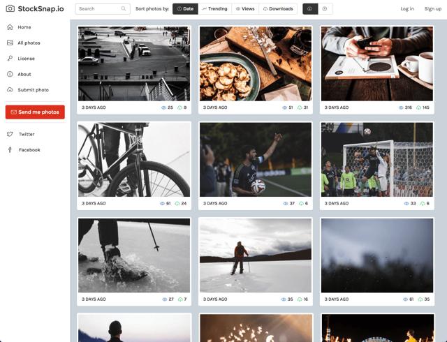 StockSnap.io 免費圖片素材圖庫,可自由下載高解析度、CC0 授權相片作品