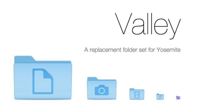 Valley Folders 一套重新設計的免費資料夾圖示包,讓你的 Mac 看起來很不一樣