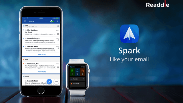 Spark 全新智慧型手機郵件 App,更聰明的 Email 處理方式(iOS 應用程式)