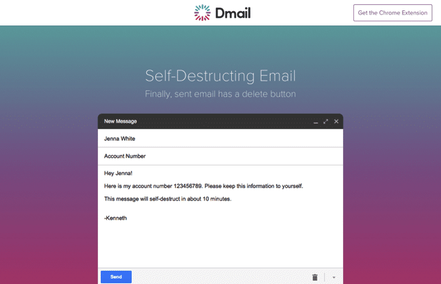 Dmail 自動銷毀、遠端刪除寄出的 Email 郵件,傳遞隱私資訊更安全可靠(Chrome 擴充功能)