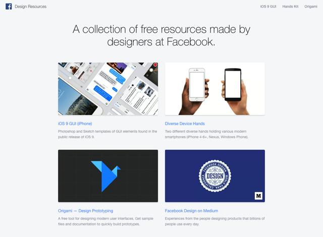 Facebook Design Resources 臉書設計免費資源集合,素材開放原始碼免費下載