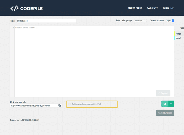 CodePile