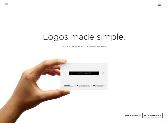 Squarespace Logo 簡單三步驟,快速設計專屬於你的精美 Logo