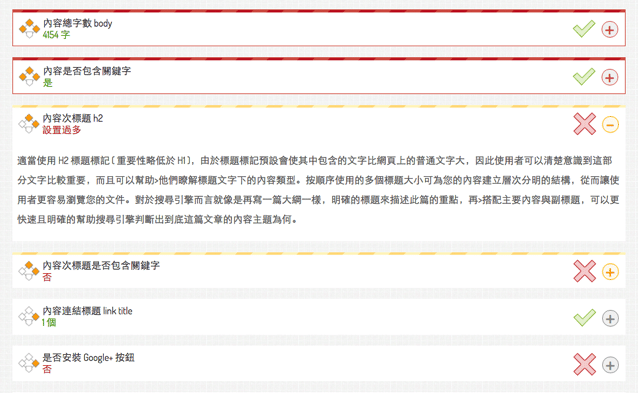 awoo 網站 SEO 評測工具