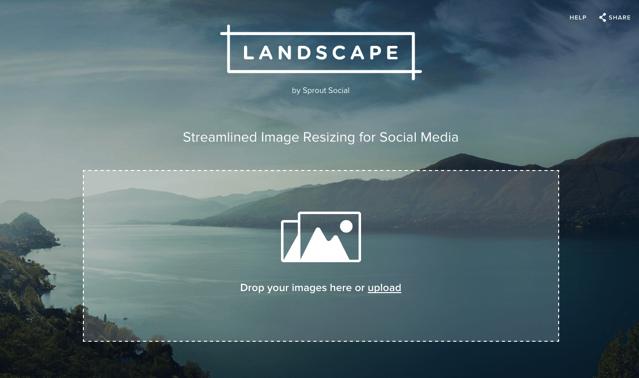 Landscape 為社群網站圖片最佳化,自動裁切找出最佳曝光黃金比例