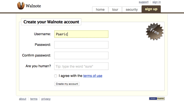 Walnote