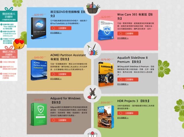 WonderFox 再推出總價 $440 美元復活節瘋狂限免活動,九款知名軟體免費下載