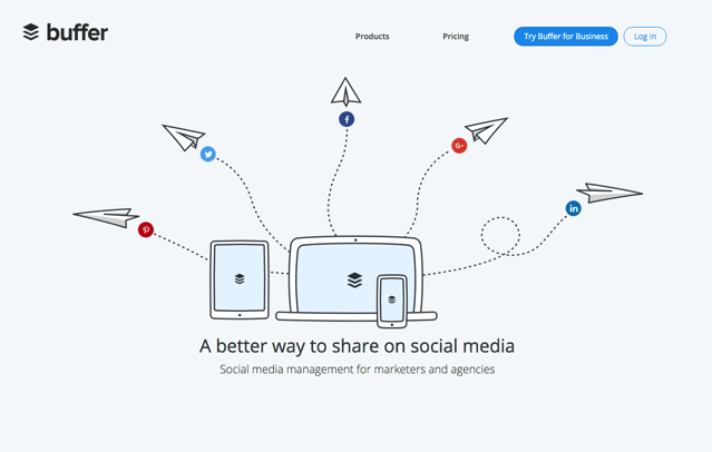 Buffer 整合 Facebook、Twitter、Google+ 同步排程自動更新貼文更簡單