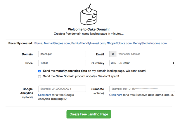 Cake Domain