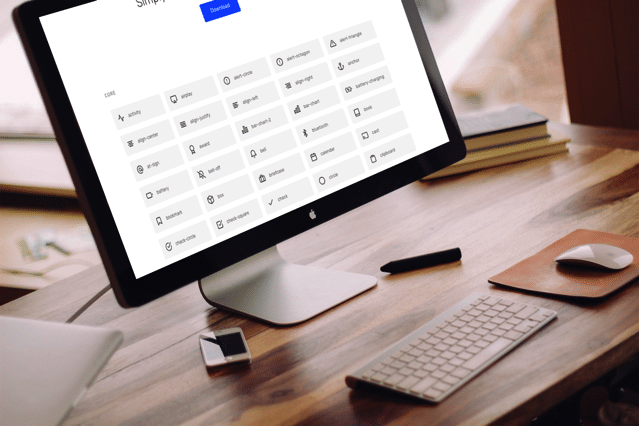 Feather 免費 SVG 向量圖示集下載,簡約設計風格超過 200 種圖案