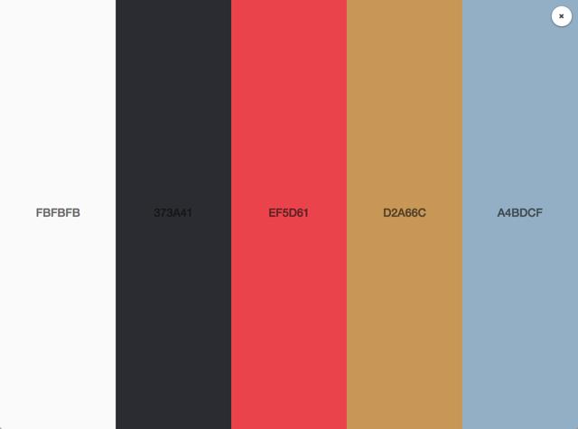 Klart Colors
