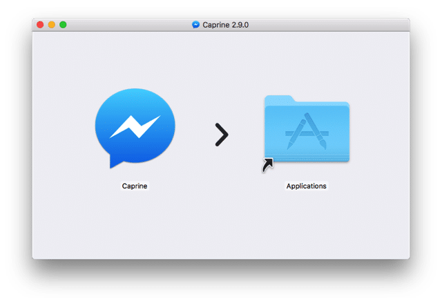 Caprine 臉書聊天室Messenger 桌面端工具,可隱藏已讀及輸入訊息提示