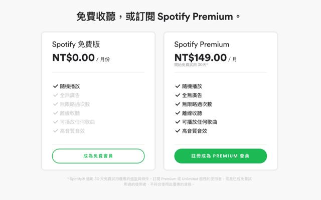 Spotify Free 免費版來了!