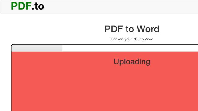 Pdf.to 线上PDF 转档集合Word、Excel、纯文字和图片等格式互转-第3张图片-小蜜蜂主机博客