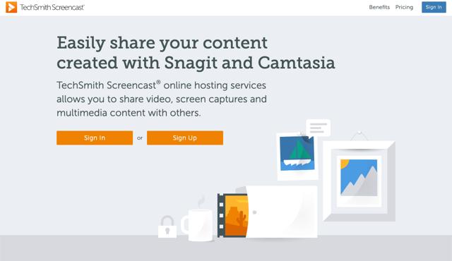 TechSmith Screencast 免費螢幕擷圖工具,解決 Jing 無法在 Catalina 使用的問題