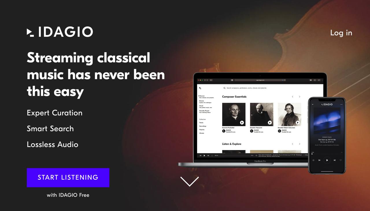IDAGIO 古典樂的 Spotify,免費方案提供 200 萬首古典音樂錄音線上收聽
