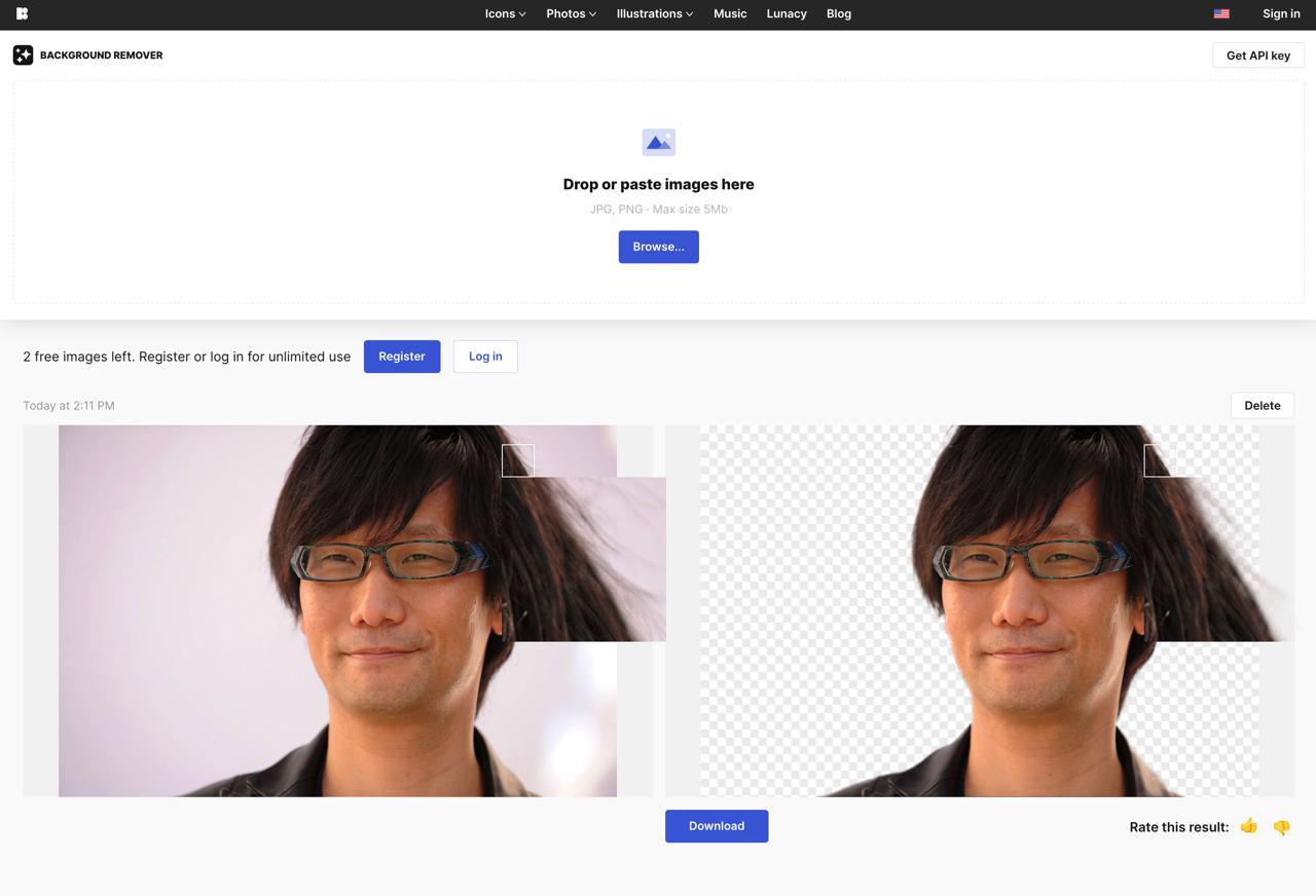 AI Background Remover